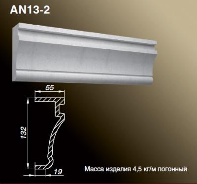 Наличник AN13-2 - Оконные обрамления.