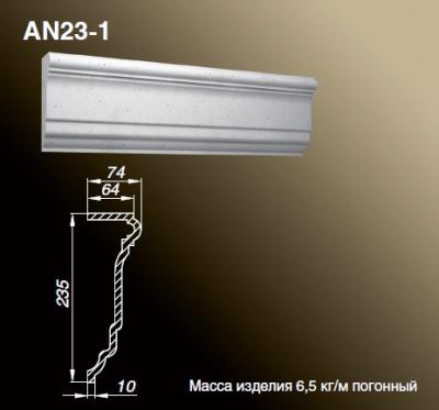 Наличник AN23-1 - Оконные обрамления.